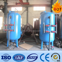 5000L/H purification water quartz sand filter tank for water treatment