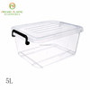 Factory direct sale waterproof small size 5L rectangular small plastic box