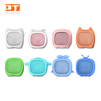 High Quality Cartoon Silicone Cute Wireless Mini Bluetooth Speaker Portable bluetooth speaker