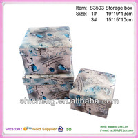Funtional fabric square storage box