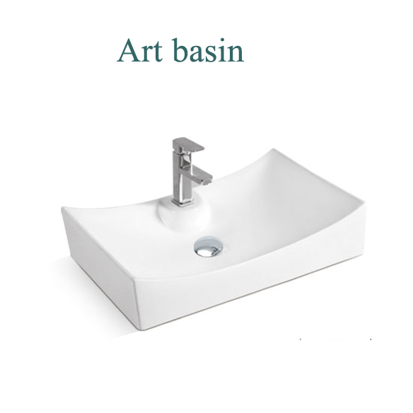 Sale washing hand ceramic basin bathroom counter top basin colorful modern bathroom