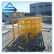 Fiberglass fence post for chemical factory, fiberglass electric fence post, fiberglass fence
