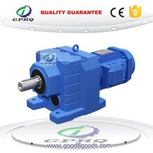 GPHQ R R cast iron helical gear reducer motor