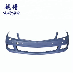 car auto body parts Plastic front bumper cover primed for 2008up Mercedes W204 C Class a2048804140