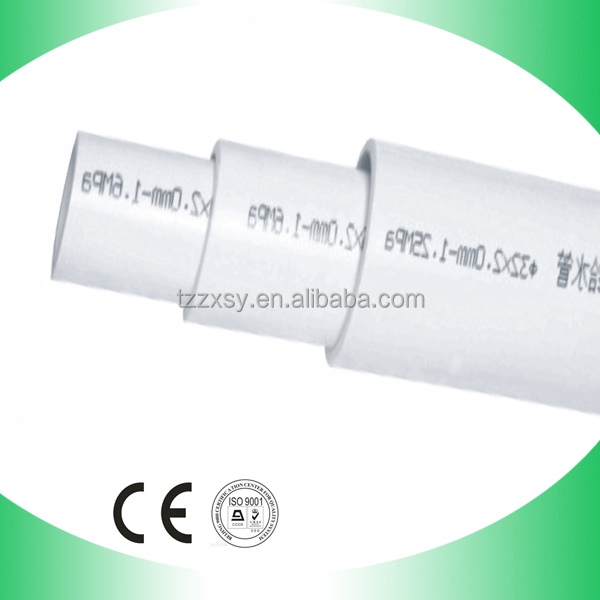 tubo de pvc dn48.26mm para aguas residuales
