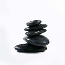 Garden decorative landscape black pebble stone
