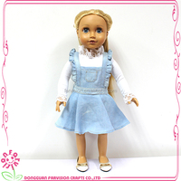 OEM dolls Christmas Vinyl Doll long hair doll