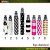 2015 hot selling for lady bling electronic cigarette/ego bling electronic cigarette/double diamond cigarettes