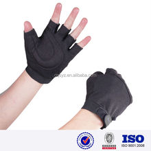 sports black color wholesale China made high quality breathable mesh cloth neoprene plam protective kids cycling glove