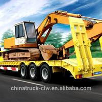 40 60 Ton Low Flatbed Semi