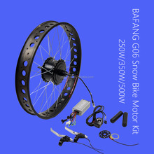 Electric Bike Conversion Kit 250w 350w 500w 750w 8 fun bafang G06 rear wheel hub motor