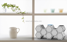 new bee housing design 45w high-end mini wireless bluetooth speaker for home used/mobile phones