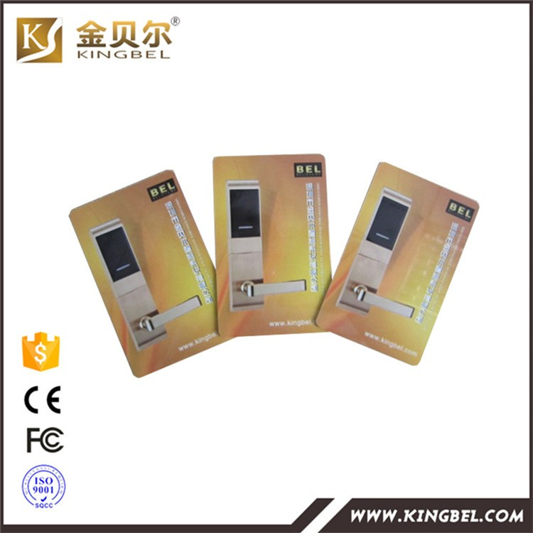 High Security keyless card door lock for hotel door