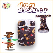Happy Flute Washable Dog Diaper reusable Pet Diaper washable Cloth Diapers for Male and Female Pets
