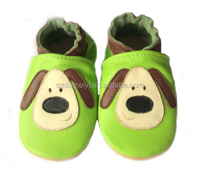 High Quality Soft Leather Baby Shoes Accept OEM