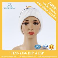wholesale Knitted design new style knit hat free pattern hat straw hat