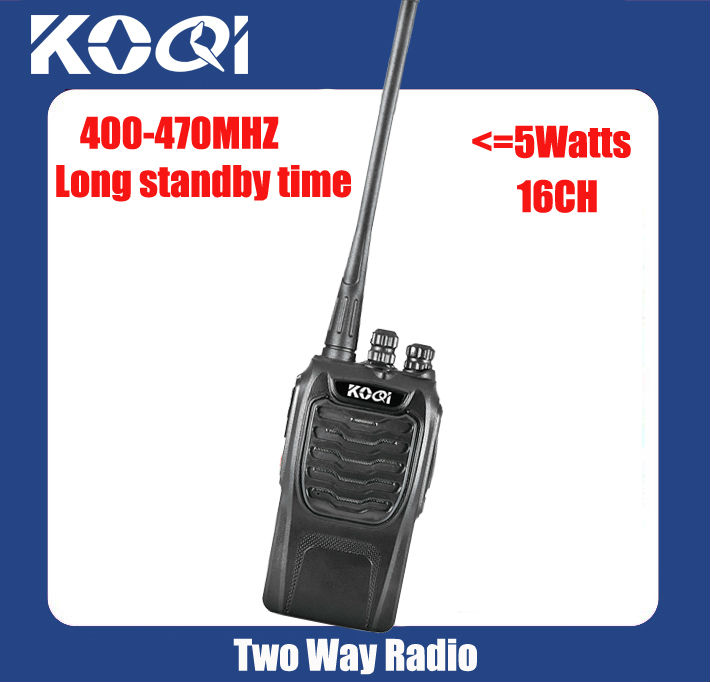 Portable interphone KQ-328 with 5 watts output power