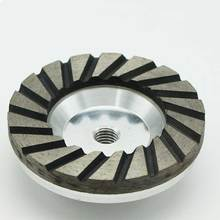 Aluminum Bond High frequency welded diamond cup cutting wheel