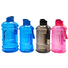 2.2L joyshaking custom logo plastic water bottle for adult,1.3L gym water jug for girls,1L sports water bottle for kids