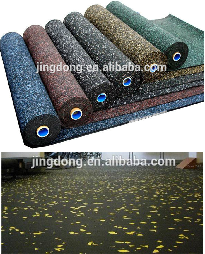Cheap Wholesale Indoor Roll Rubber Mats For Gym