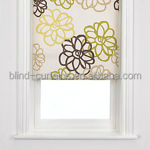 2015 latest designs of curtains/polyester roller blind/office roller blinds