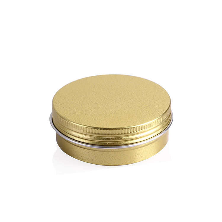 Best Selling Low Price Waterproof gold Aluminum can Screw Top Tins