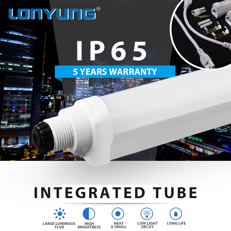 Day Light refrigerator 100-277v isolated driver t8 integrative led tube light