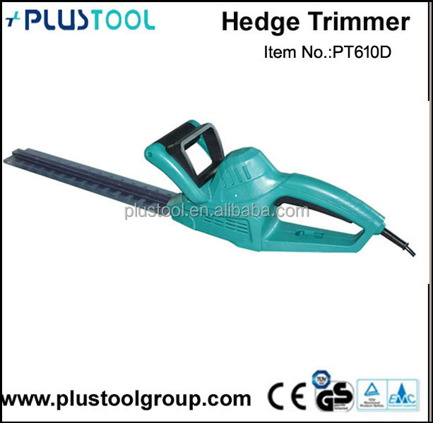 600W 610mm high quality mini electric hedge trimmer with GS EMC