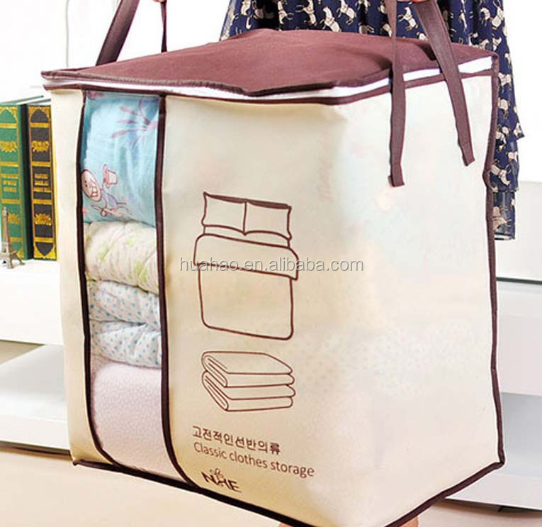 china supplier clear storage non woven tote bag