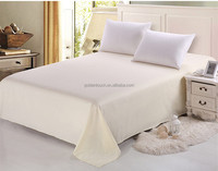 Cheap flat softextile bed sheet for home