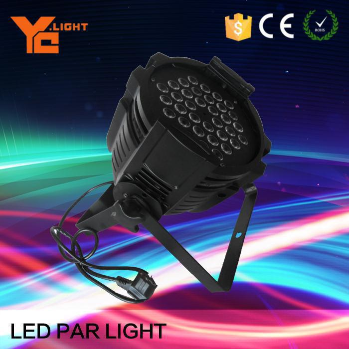 led par 64 light 36x3w par 36 led rgbw