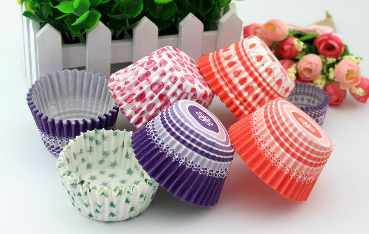 60mm - 140 mm Grease Proof Paper Baking Cups Muffin Cups Mini Muffin Cupcake Liners - No Smell, Safe Food Grade Inks and Paper