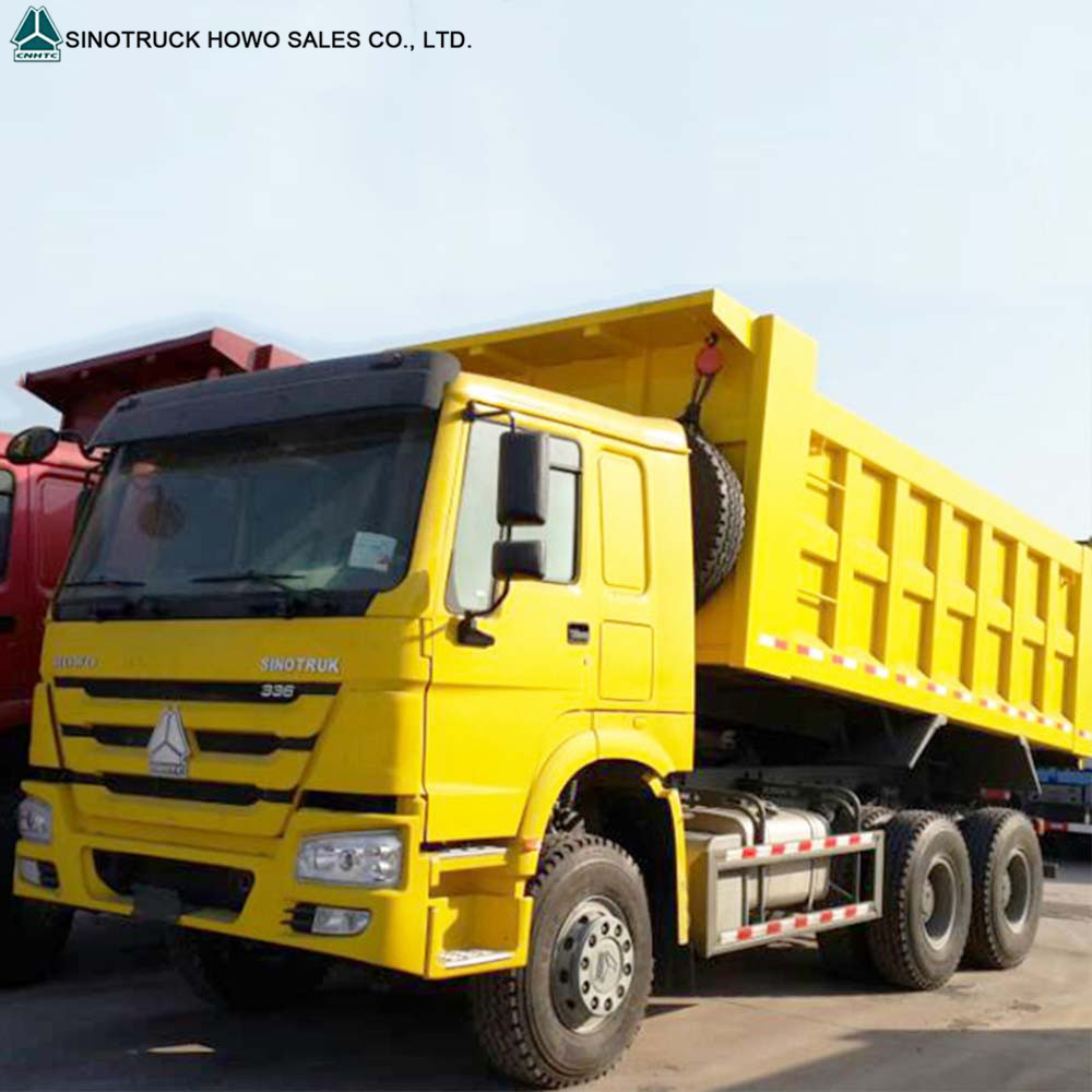 6*4 china relable truck manufacturer HOWO dump truck