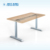 JIECANG JC35TS-R13S three segments no-hole design office standing height adjustable sit stand desk