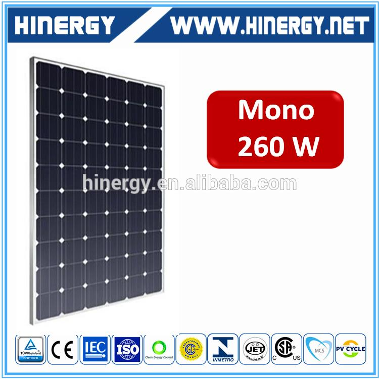 260w mono solar panel for sale pv solar panel 260 w mono power kit For House