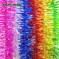 wholesale christmas tinsel garland artificial decorations garland out door