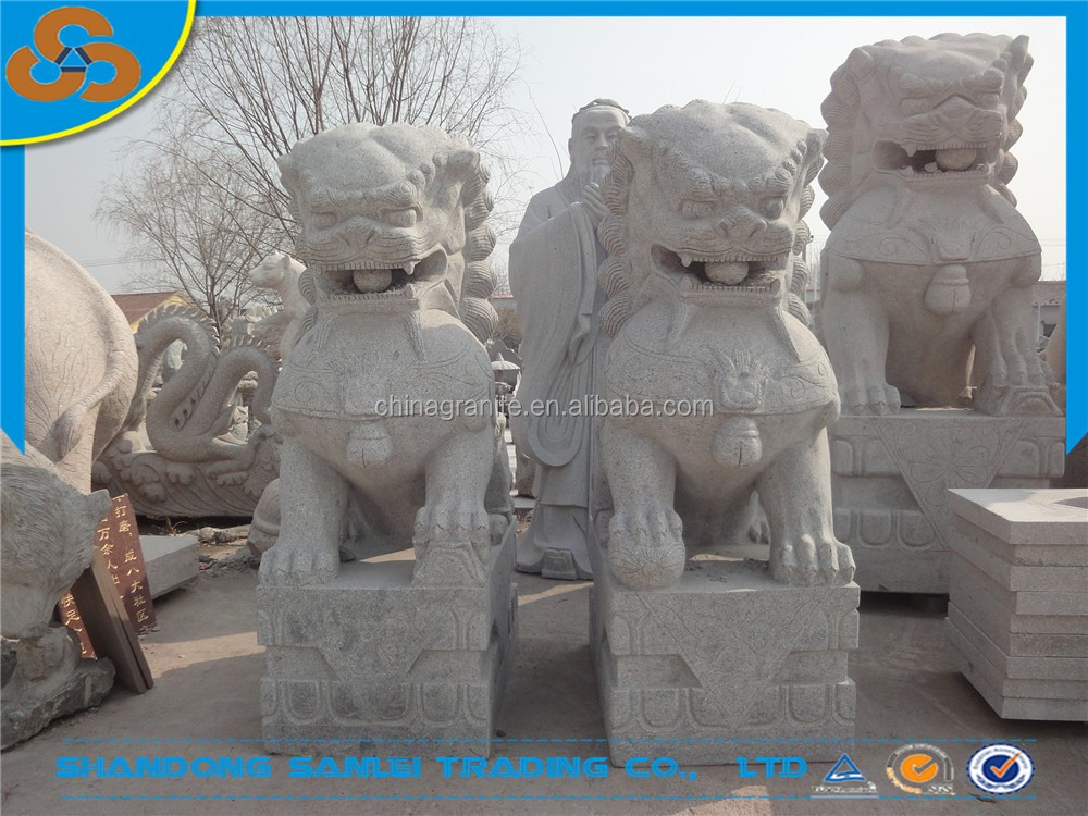 chinese guardian lions statues for sale