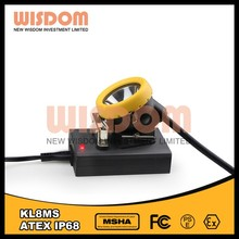 Customized designed rechargeable led miner safety caplights