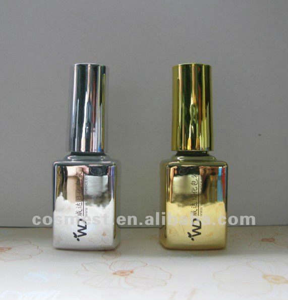 shining coating gel polish bottle 12ml capacity