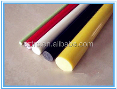 FRP rod for Driveway poles and snow markers/Stiffener rods for rubber, plastic, wood