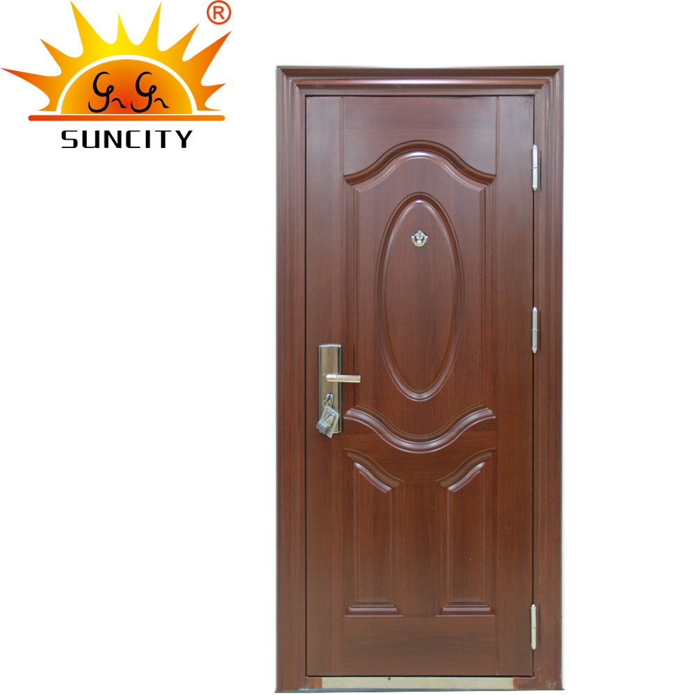 SC-S007Classic design entrance steel security door made in china