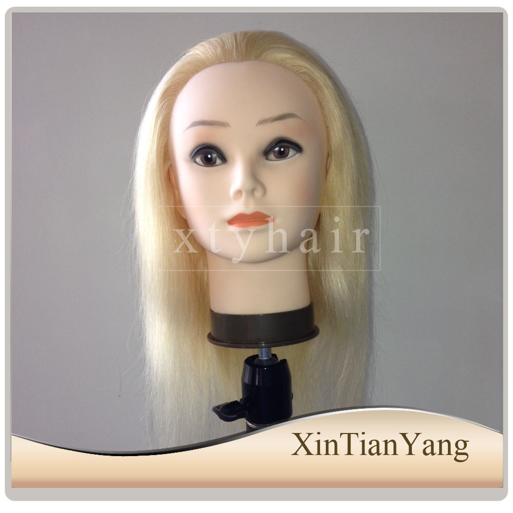 Female Face hairdressing training doll head