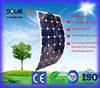 high efficiency 100W sunpower felxible 18V solar panel for RV, Marine, Caravan