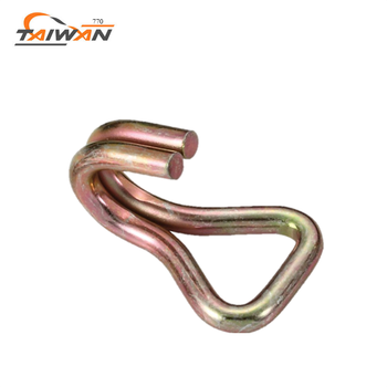 Top manufacture wholesale flat double J hook