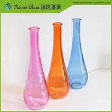 Hand blown flower vase glass terrarium,stained glass flower vase in guangdong