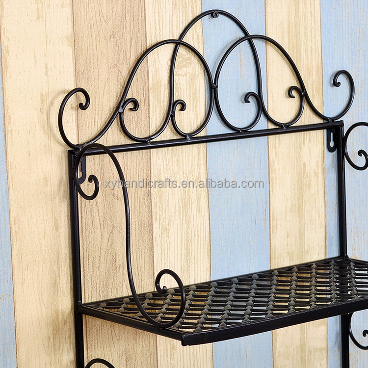 Professional first choice antique wrought iron plant stand