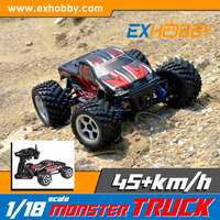 High speed plastic rc model red rc car toy 785-1