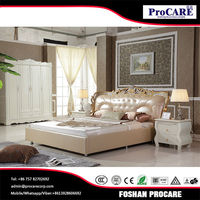 New design fashion low price royal furniture bedroom sets italian bedroom set