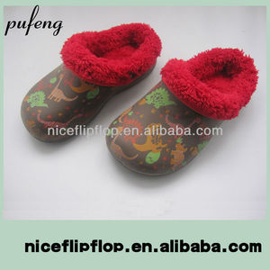 2014 new style EVA winter clogs shoes