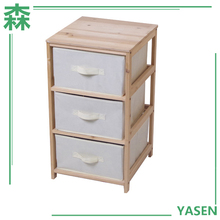 Yasen Houseware High Quality New Desgin Custom Home Furniture Reclaimed Wood Three Drawers Chest